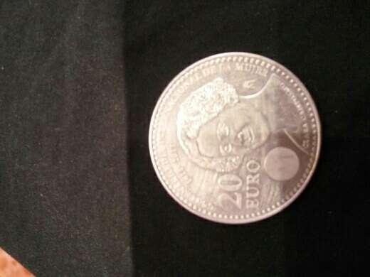 Imagen moneda de plata de 20€