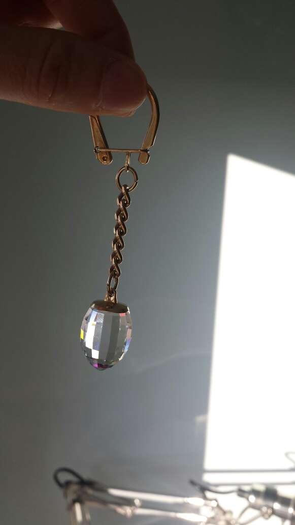 Imagen Llavero de cristal SWAROVSKI