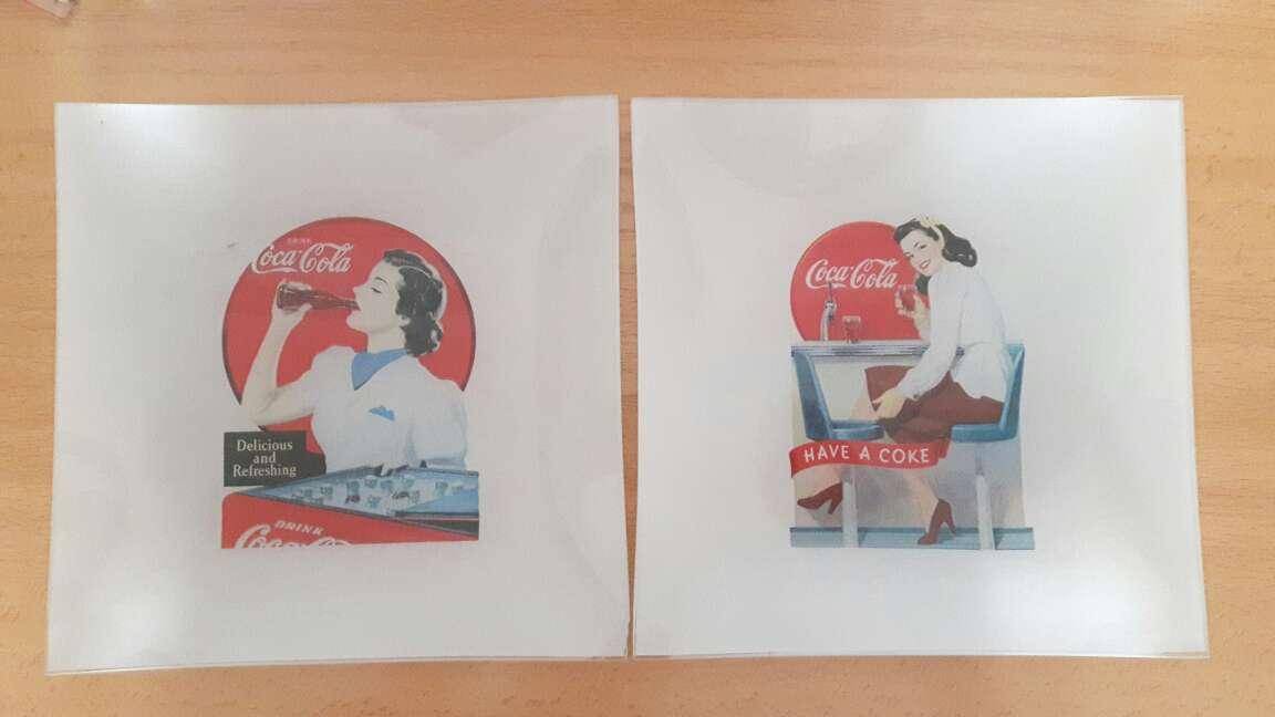 Imagen Platos decorativos de Coca-Cola