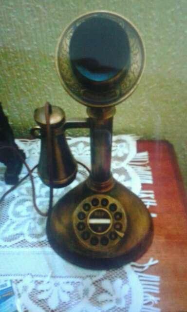 Imagen producto Teléfono antiguo réplica años 1920 chicago 2