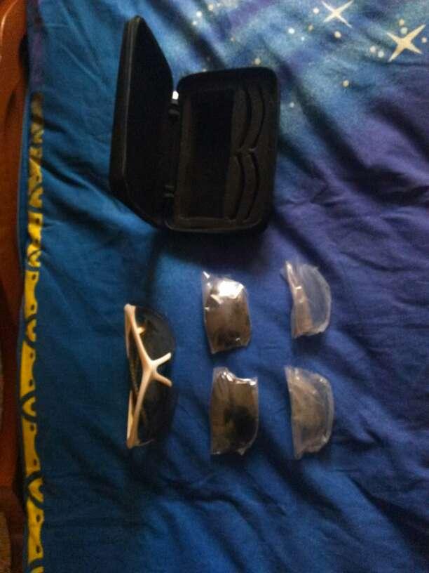Imagen gafas deporte con cristales recambio