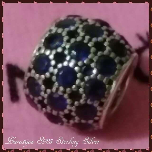 Imagen producto Charms (Circonita Azul)  2