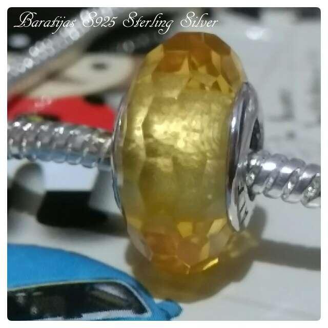 Imagen producto Charms Cristal de murano Oro)  4