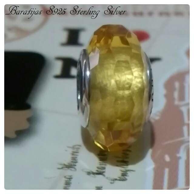 Imagen producto Charms Cristal de murano Oro)  3
