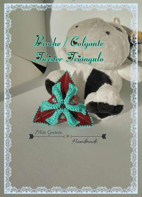 Imagen Broche abalorios Twister (Jarafuel)