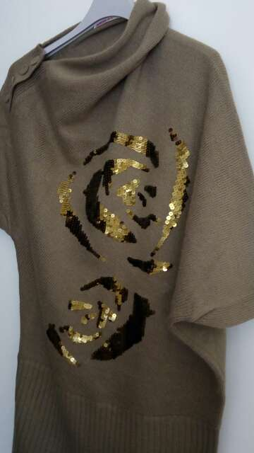 Imagen producto Vestido- suéter 2