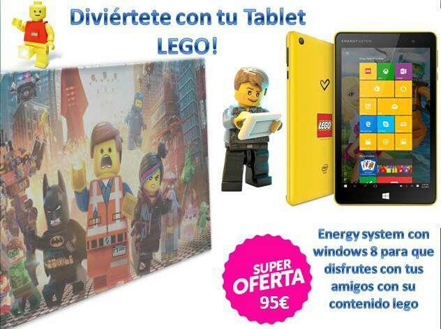 Imagen tablet Lego
