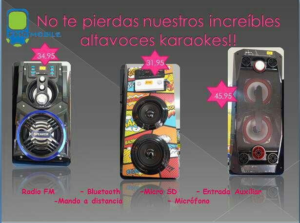 Imagen Karaoke altavoz