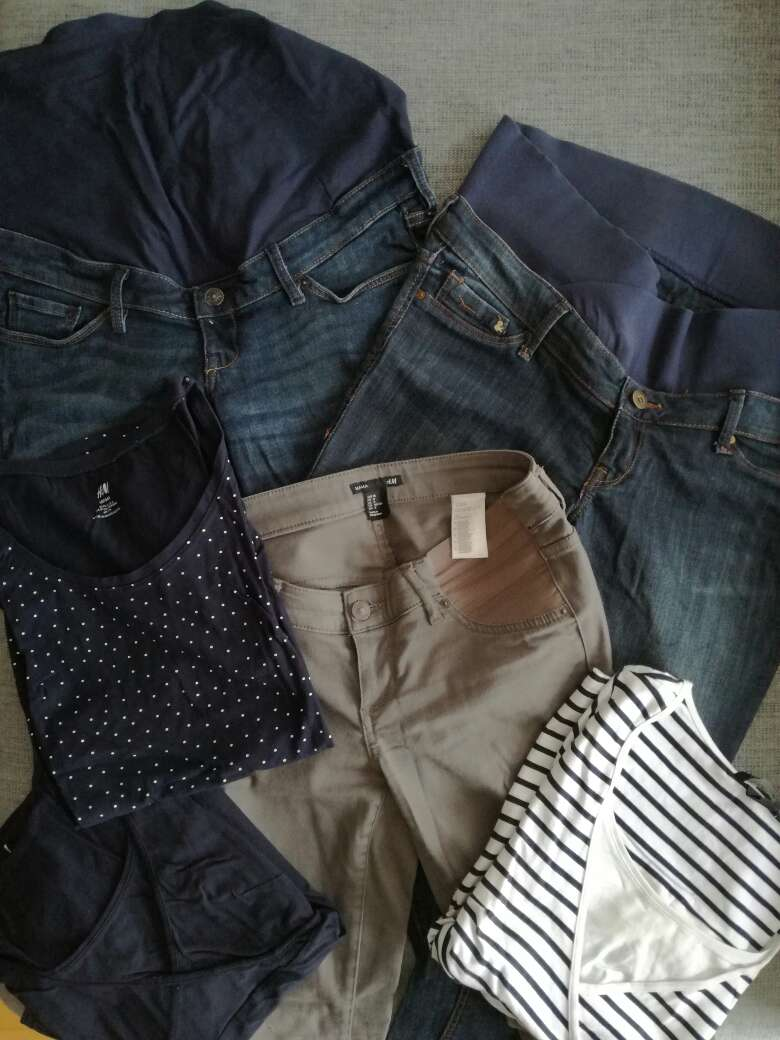 Imagen producto Ropa premamá. Pack. 1