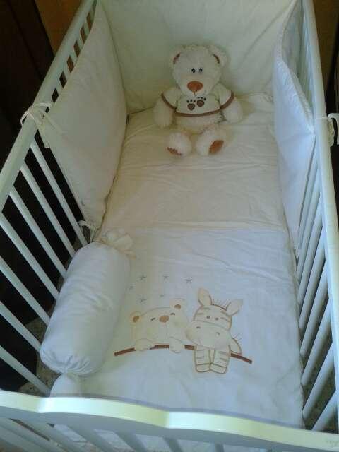 Imagen Cuna bebé blanca