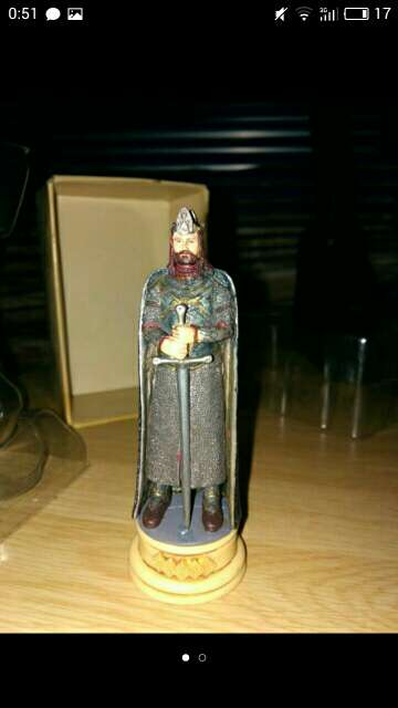 Imagen figura de plomo el señor de los anillos