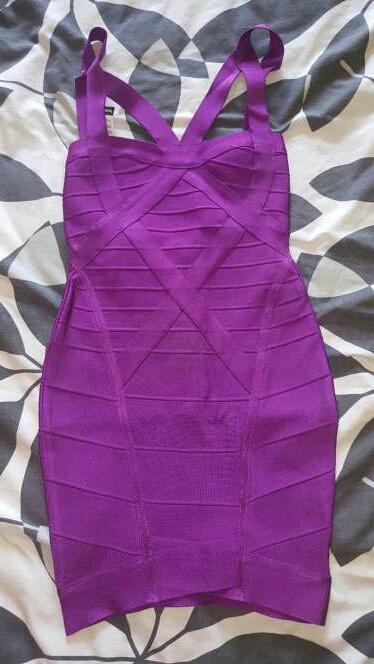 Imagen Vestido Bandage Morado