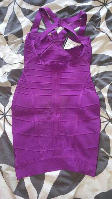 Imagen producto Vestido Bandage Morado  2