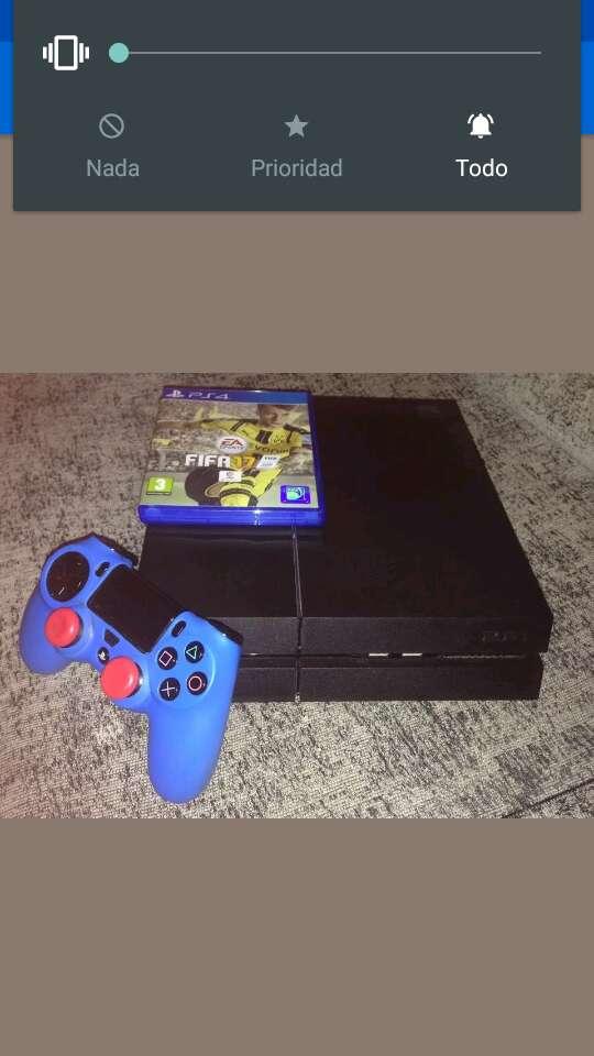 Imagen producto Playstation 4 + mando + fifa 17 ( solo transferencia bancaria ) 3