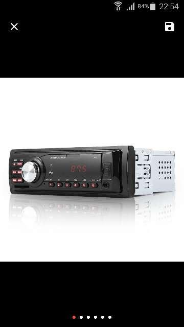 Imagen Radio Auto Audio Estéreo 12 V Apoyo FM SD AUX Inte