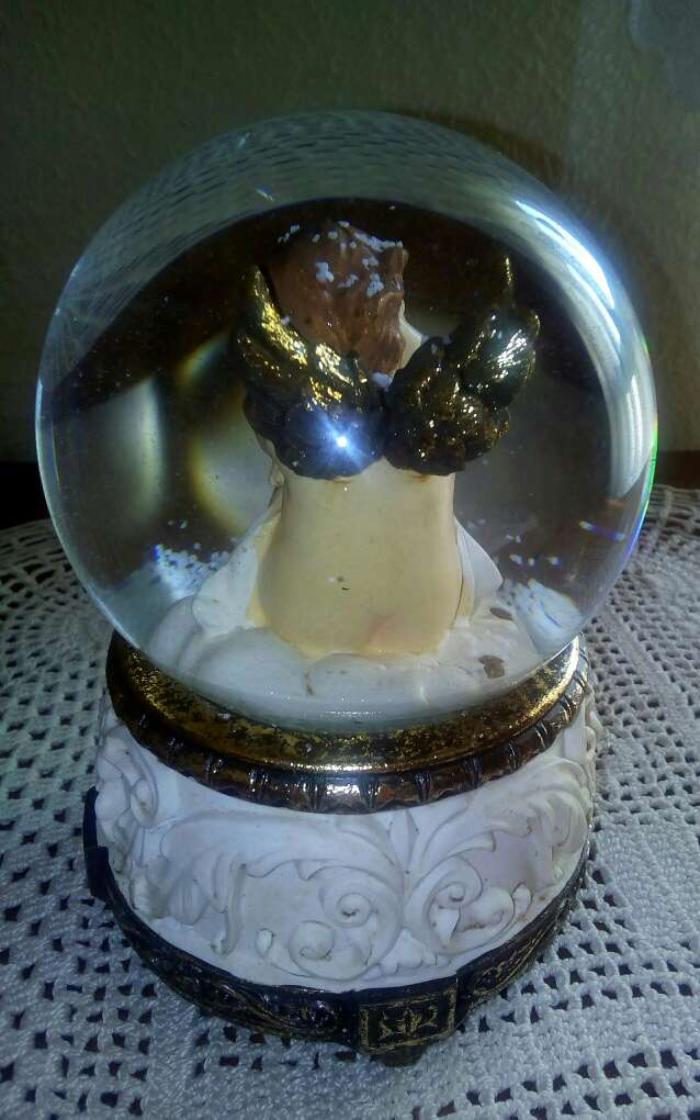 Imagen producto Bola de cristal con música 3