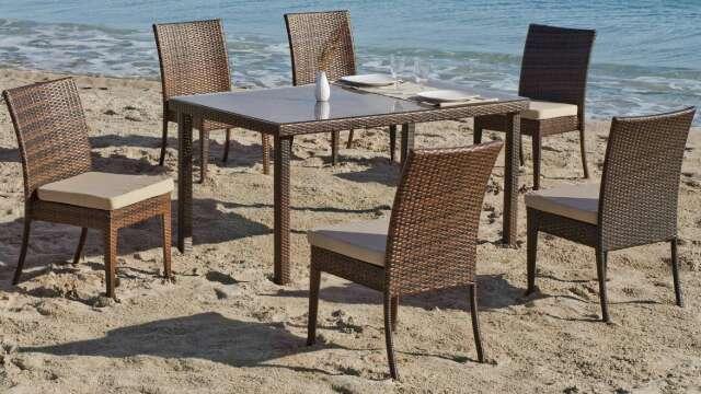 Imagen Conjunto de mesa y sillas de jardín /nuevo