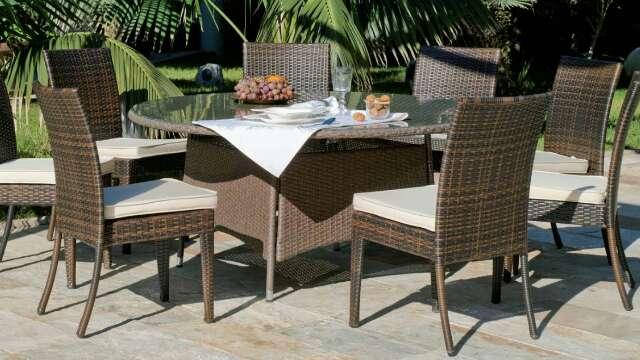 Imagen Conjunto de mesa y sillas de jardín nuevo