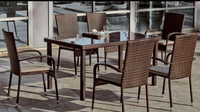 Imagen Conjunto de mesa y sillas de jardín /nuevi