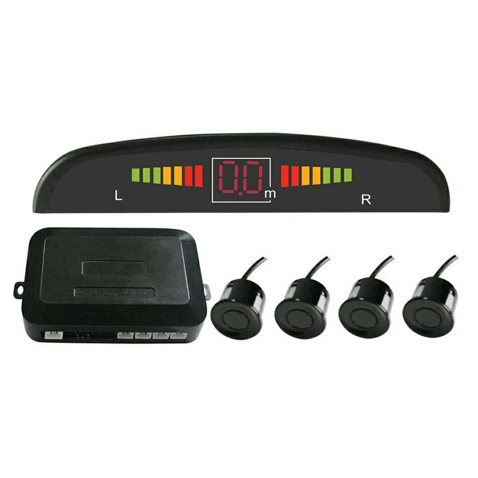 Imagen Kit de Sensor de Aparcamiento LED Display Sonido d