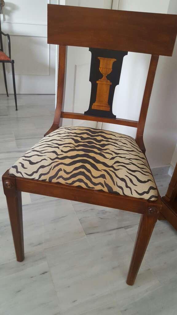Mesa comedor con seis silla en espartinas sevilla wendoo for Sillas comedor sevilla