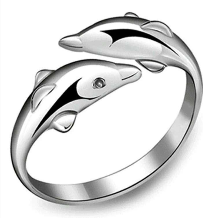Imagen producto Anillo delfín  2