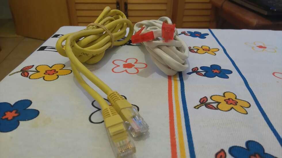 Imagen producto Cable RCA 2€,cable alimentación CPU 3€,Euroconector RCA 3€ y cable de red 2€ 3