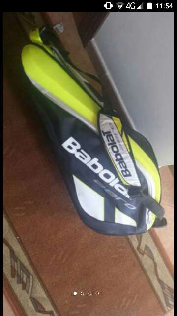 Imagen raquetero de tenis