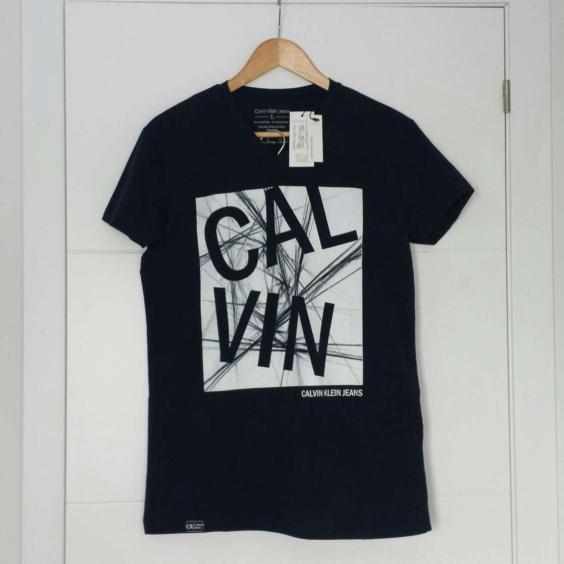 Imagen producto Camiseta CALVIN KLEIN Nueva  2