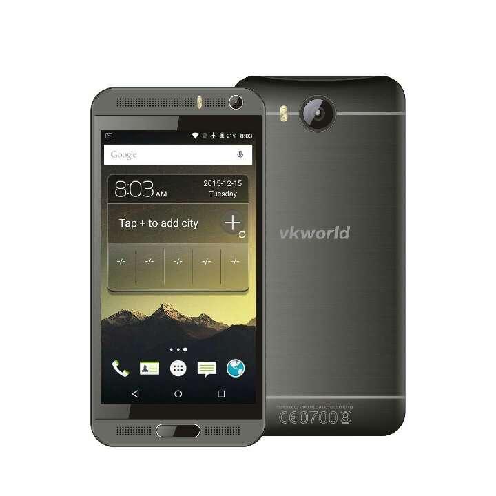 Imagen teléfono inteligente Android de 5.1  8 GB de RAM + 1 GB ROM quad-core 1.3 GHz 8 MP dual SIM WCDMA & GSM teléfono (negro)
