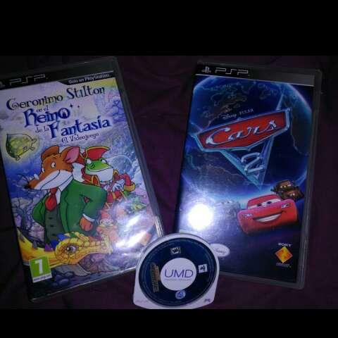 Imagen producto Vendo PSP+JUEGOS 2