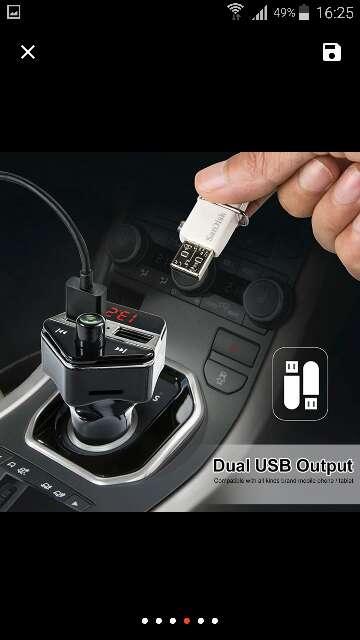 Imagen producto Bluetooth Kit para Coche Inalámbrico de FM Del Mod 3
