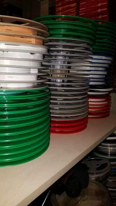 Imagen producto Bobinas de peliculas en 8mm y super8 de plastico nuevas con cajas 3