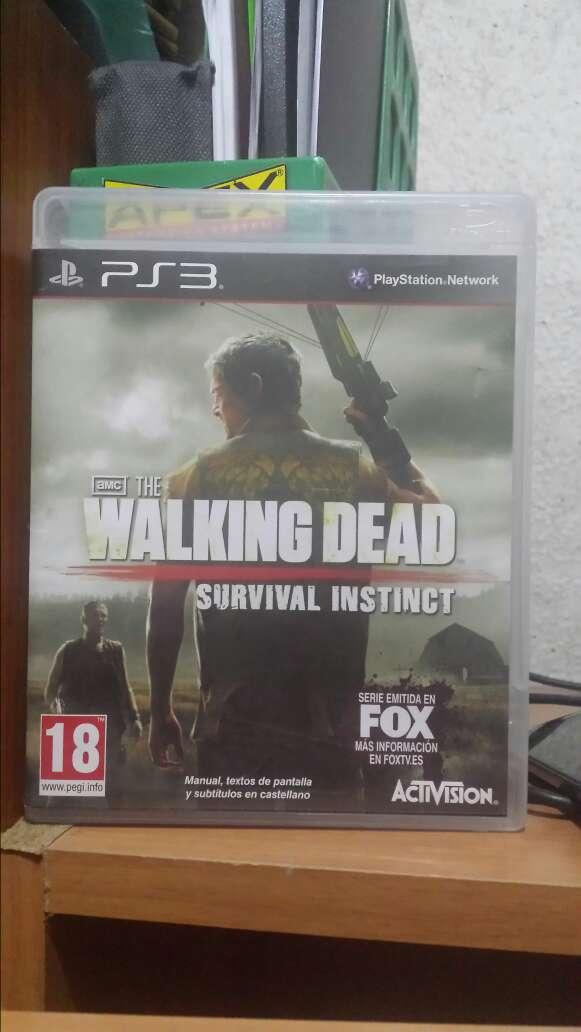 Imagen walking dead ps3