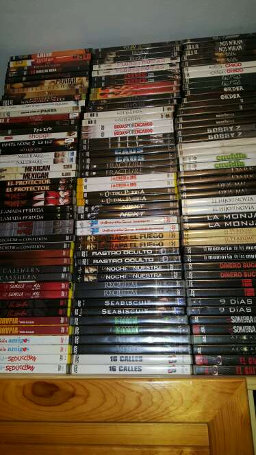 Imagen lote completo de 5000 peliculas en Dvds en perfecto estado y precintadas algunas