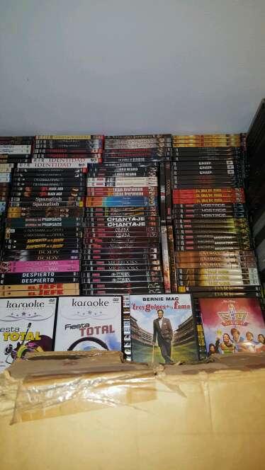 Imagen producto Lote completo de 5000 peliculas en Dvds en perfecto estado y precintadas algunas 2