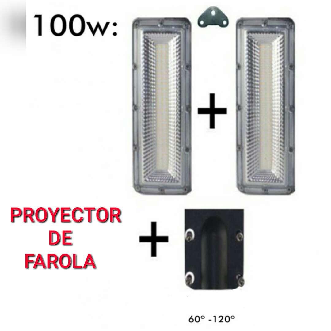 Imagen Kit farola 100w LED SMD nuevo.