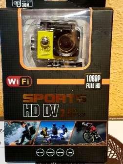 Imagen camara depirtiva full hd wifi sumergible nueva
