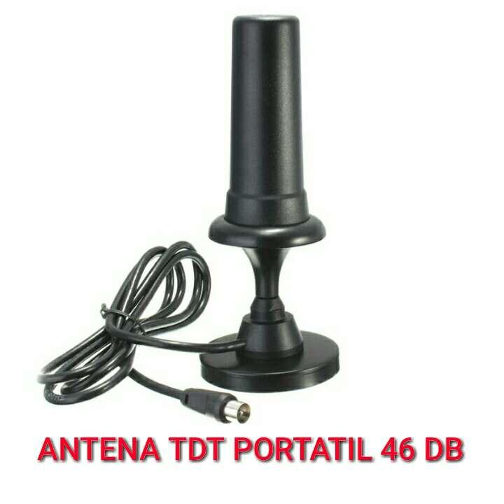 Imagen Antena tdt portatil 46 db nueva.