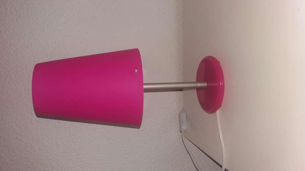 Imagen Lámparas rosas.