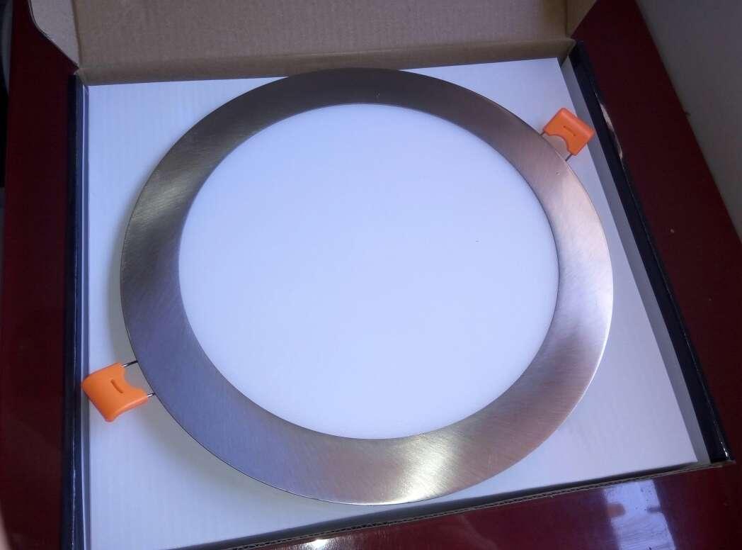 Imagen producto 8 Downlight 18w led panel plata nuevo. 2
