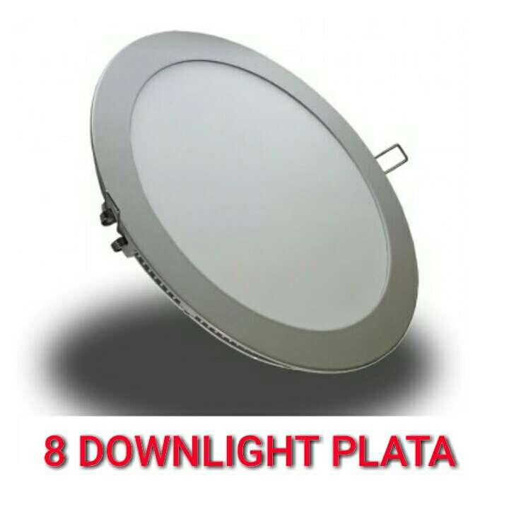 Imagen 8 Downlight 18w led panel plata nuevo.