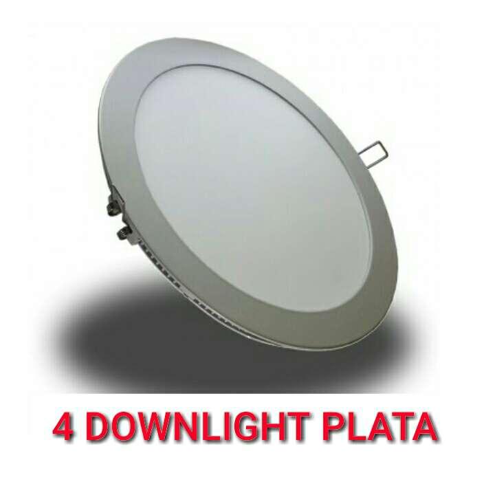 Imagen 4 Downlight 18w led panel plata nuevo.