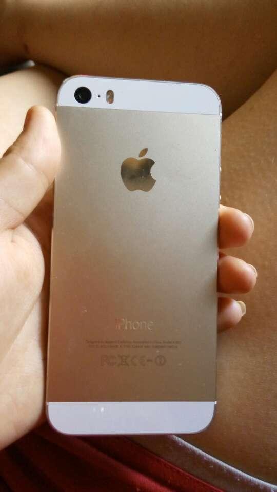 Imagen iphone 5s dorado