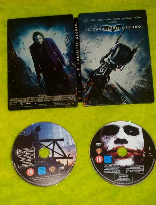 Imagen Pack el caballero oscuro mas 6 películas DVD