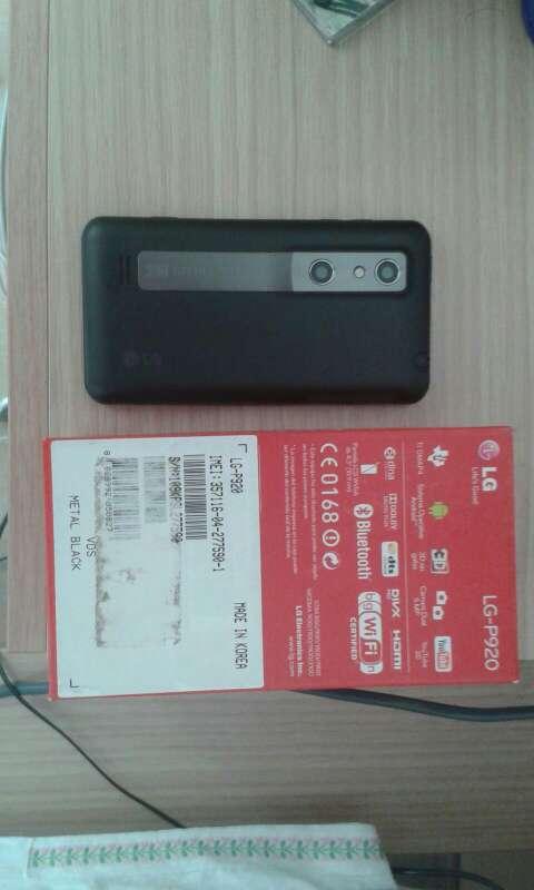 Imagen LG p920 Optimus 3D