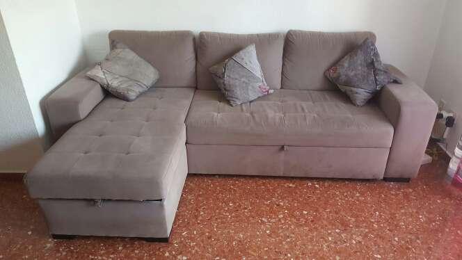 Imagen producto Sofá cama 5 plazas con sólo 1 año 2
