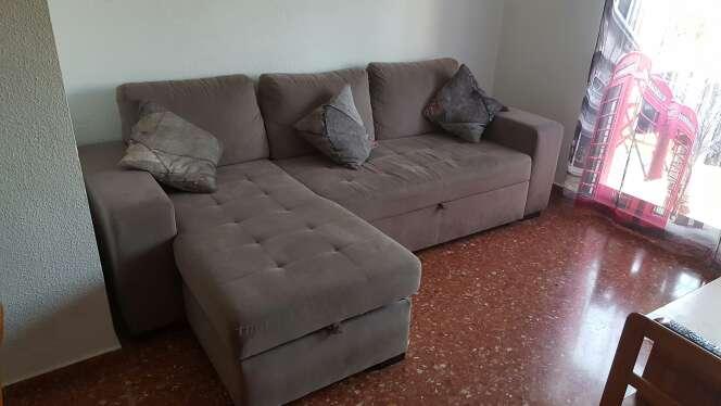 Imagen sofá cama 5 plazas con sólo 1 año