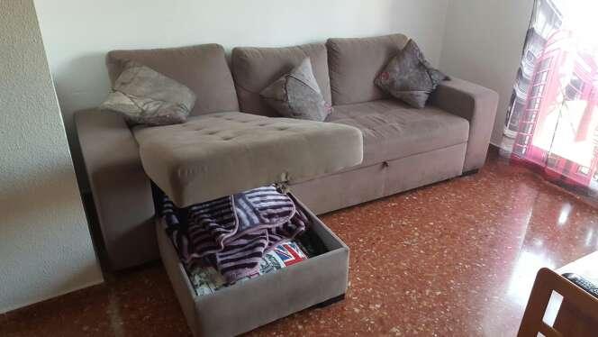 Imagen producto Sofá cama 5 plazas con sólo 1 año 4