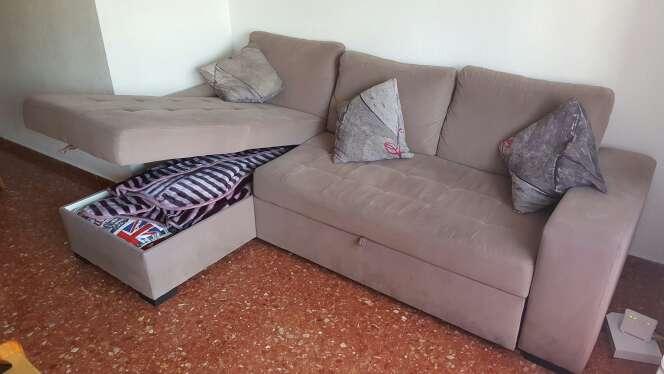 Imagen producto Sofá cama 5 plazas con sólo 1 año 3